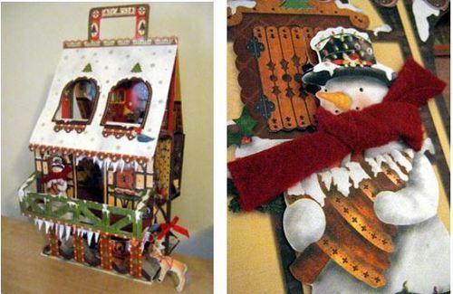 サンタのクリスマスハウス.JPG
