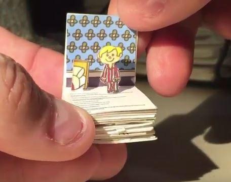 Miniature Popup book oo1.JPG
